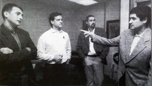 Portavoces de Gesto y Elkarri en 1997